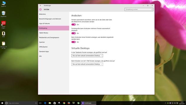 Kommentar: Luft holen, es ist nur Windows10