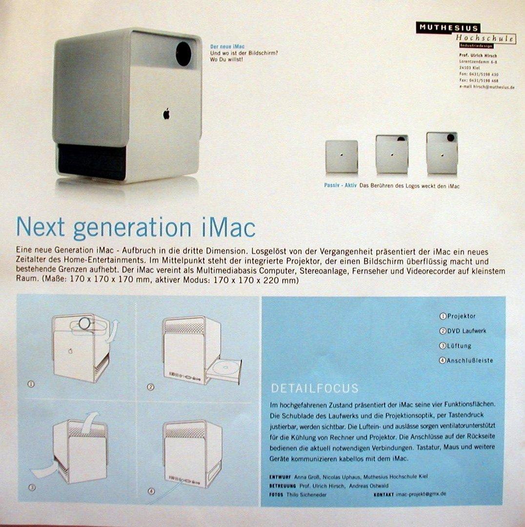 Next Generation iMac?
