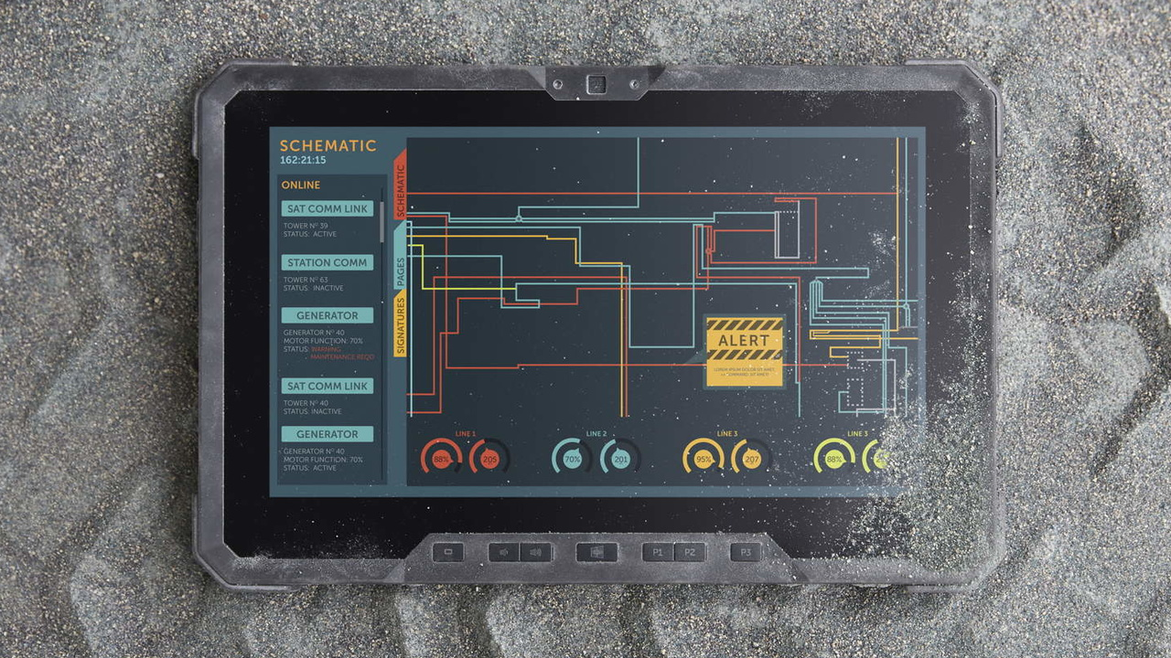 Dell Outdoor-Tablet: Latitude 12 Rugged Tablet ab 2.050 Euro in Deutschland