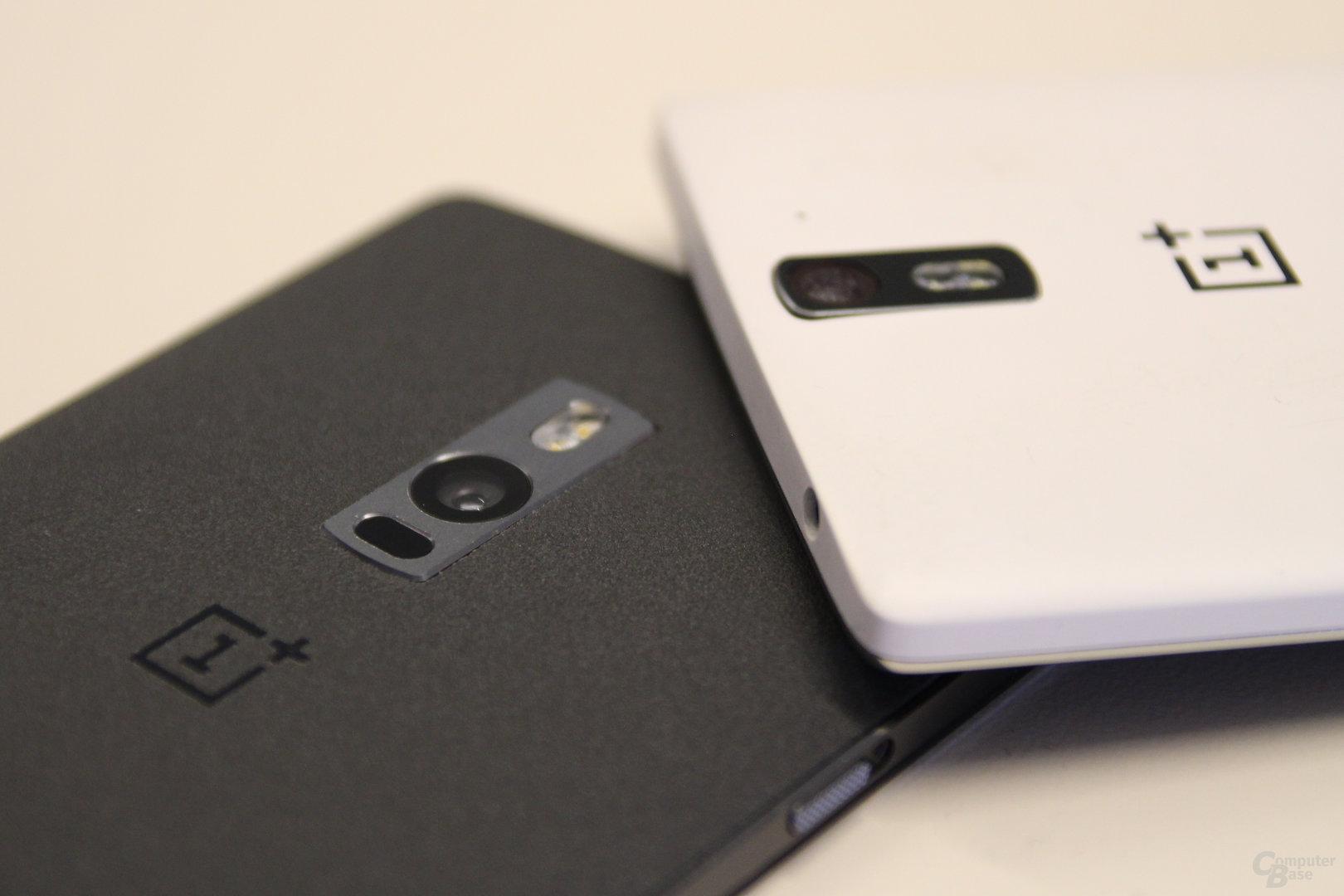 OnePlus 2 neben dem OnePlus One