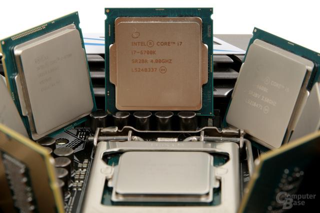 Intel Core i5-6600K und Core i7-6700K wurden von der aktuellen Kaby-Lake-Generation abgelöst