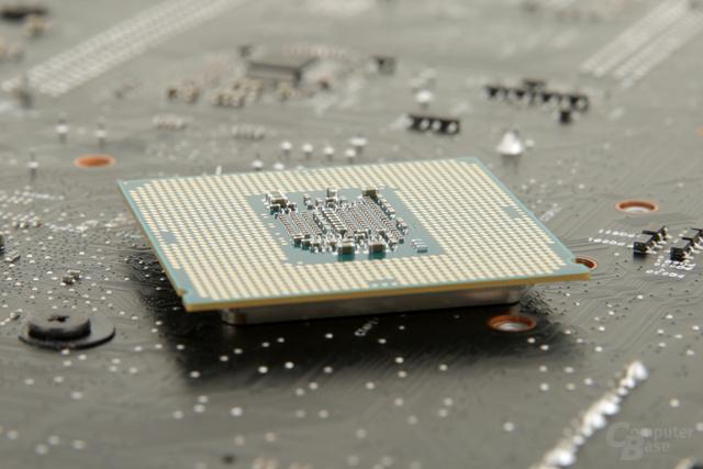 Intels Skylake-CPU – Rückseite