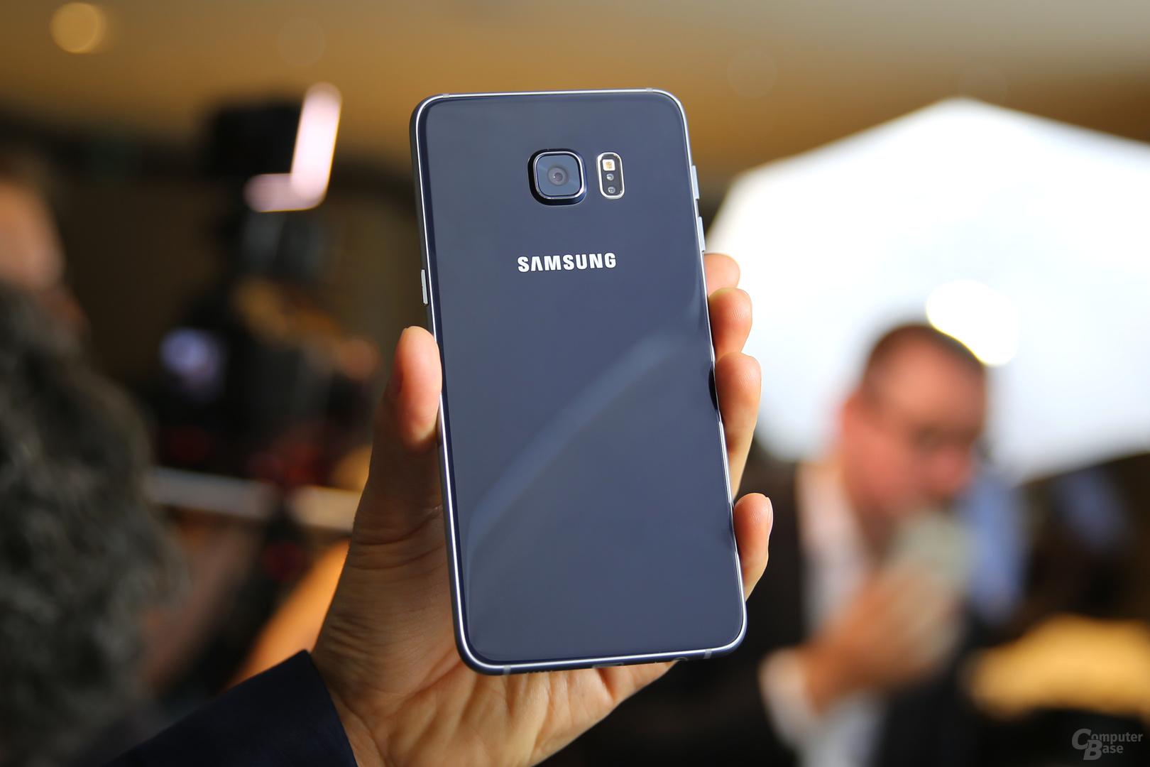 Das Galaxy S6 edge+ sieht wie das Galaxy S6 edge aus – nur größer