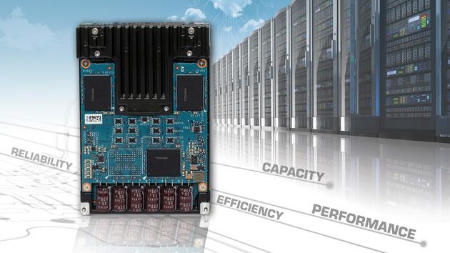 SAS-SSDs: Toshibas 3. Generation mit 270.000 IOPS und 3,84 TB