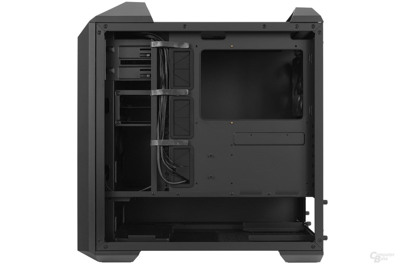 Cooler Master MasterCase 5 – Innenraumansicht Rückseite