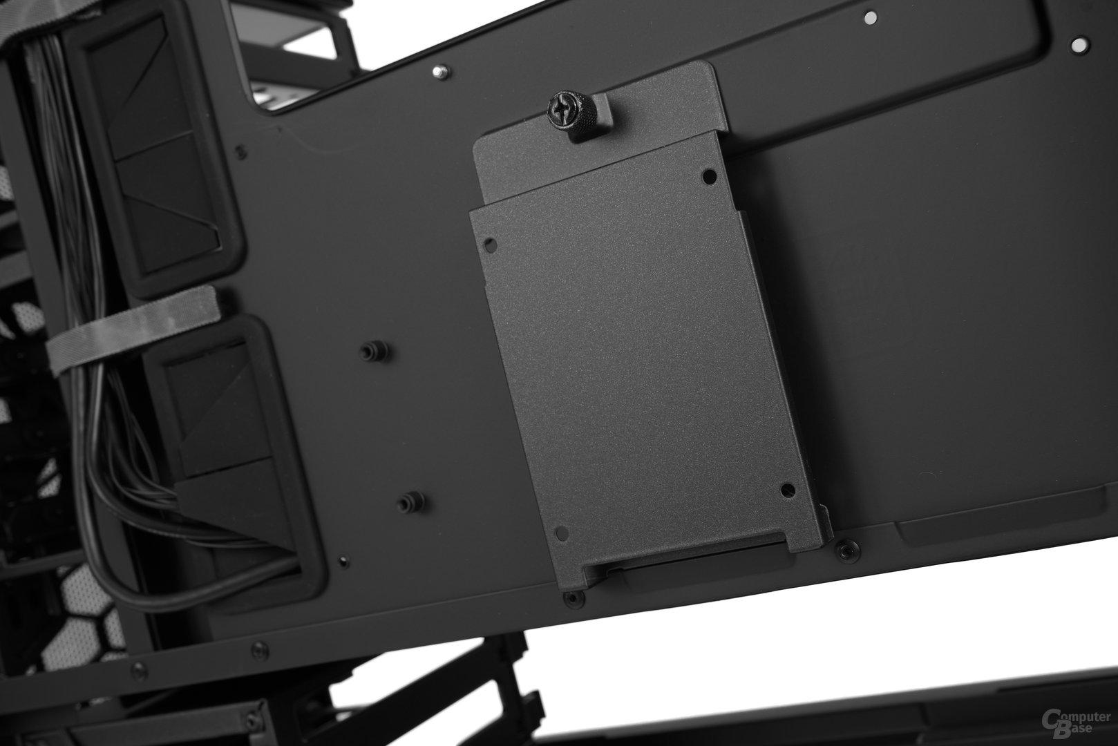 """Cooler Master MasterCase 5 Pro – Weitere 2,5""""-Brackets für Trayrückseite"""