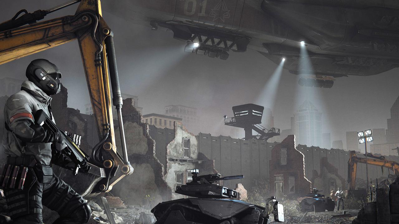 Homefront The Revolution Lebenszeichen mit Gameplay auf der ...