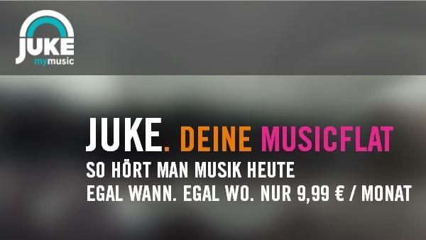 Juke: Nach Musik und Filmen nun auch E-Books erhältlich