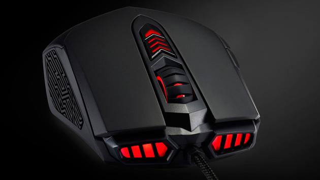 """Asus RoG: GX860 Buzzard  ist eine """"back to basics""""-Spielemaus"""