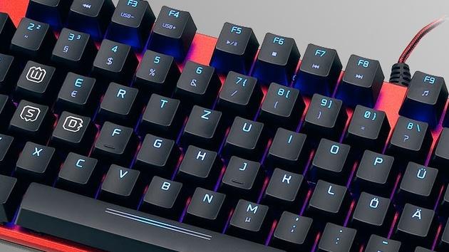 Speedlink: Zwei mechanische Tastaturen mit Tastentechnik von Kailh