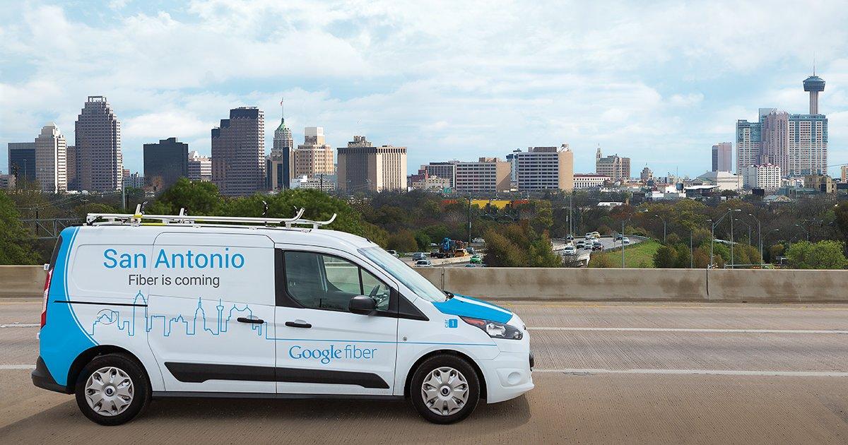 Google Fiber kommt nach San Antonio