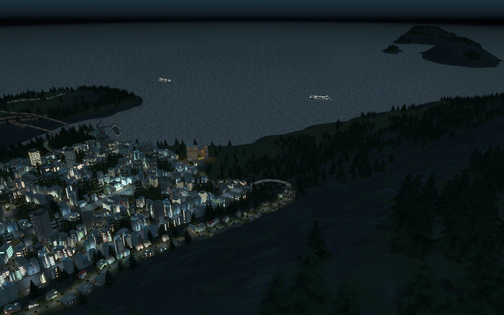 "Cities: Skylines ""After Dark"" Erweiterung"