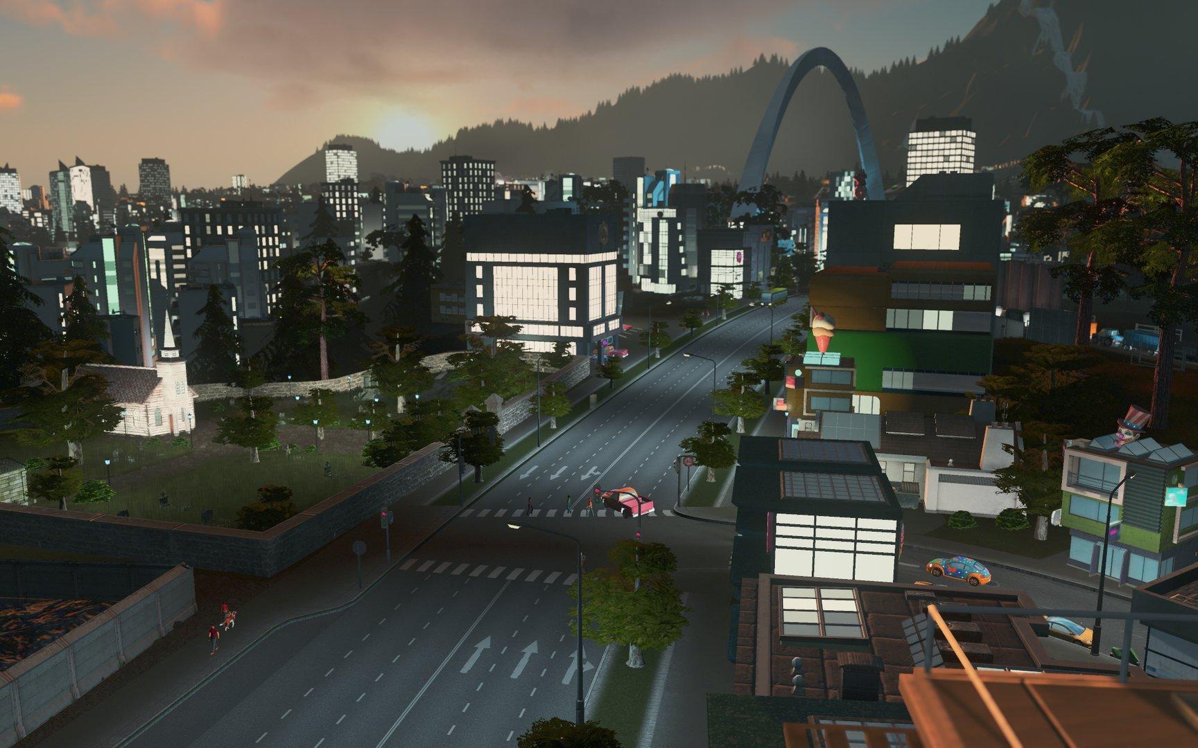 """Cities: Skylines """"After Dark"""" Erweiterung"""
