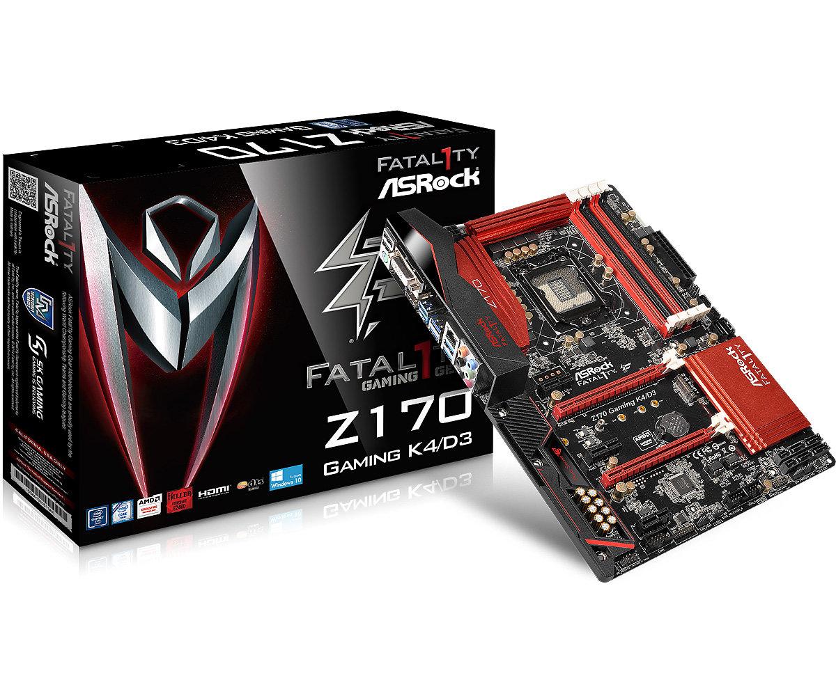 Fatal1ty Z170 Gaming K4D3