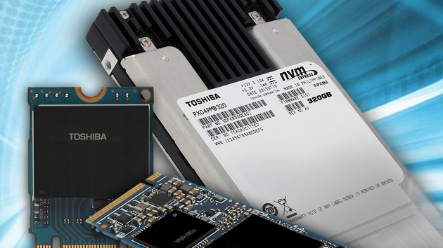 Solid State Drives: Toshiba startet in die NVMe-Ära mit drei SSD-Serien
