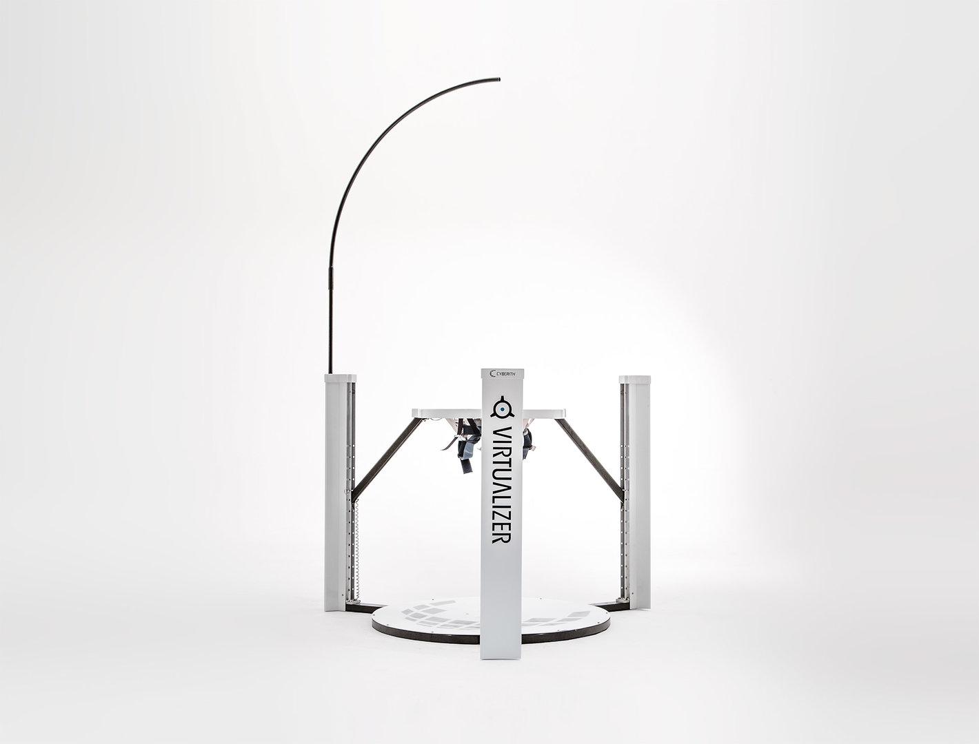Virtualizer – Aufbau des Systems mit Arm zur Kabelführung