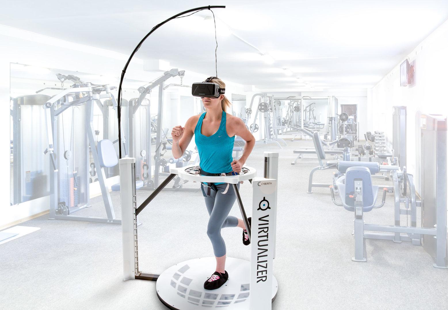 Virtualizer – Anwendungsbeispiel: Fitness