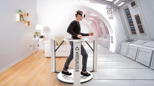 Cyberith Virtualizer: Bewegungssteuerung für VR-Headsets ausprobiert