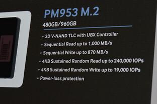 Samsung PM953 als M.2-Modul