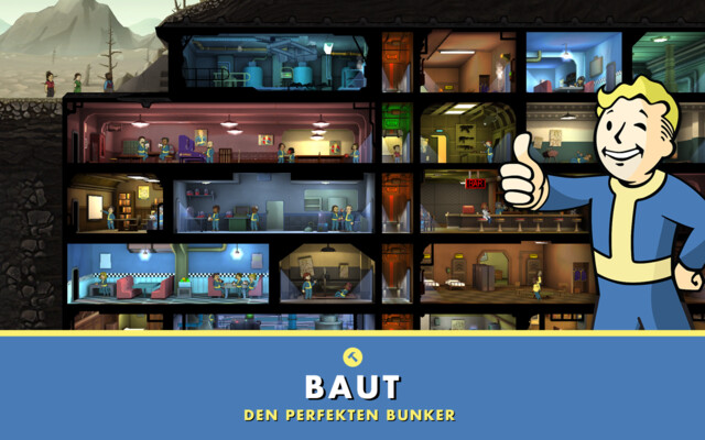 Fallout Shelter für Android