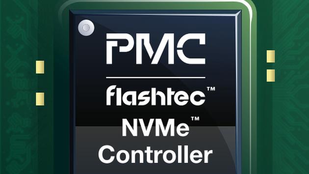 NVMe-Controller: PMC Flashtec mit PCIe 3.0 x8 für 1 Million IOPS und 20 TB