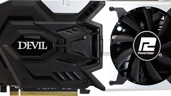 PowerColor Devil R9 390X: Der Teufel kommt mit Hybrid und schiefem Lüfter