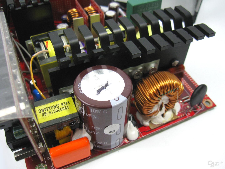 Cooler Master V550 – Primärseite