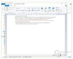 """In der Datei """"userconsoledata"""" muss der Eintrag """"IsInternalPreview"""" auf """"true"""" gesetzt werden"""