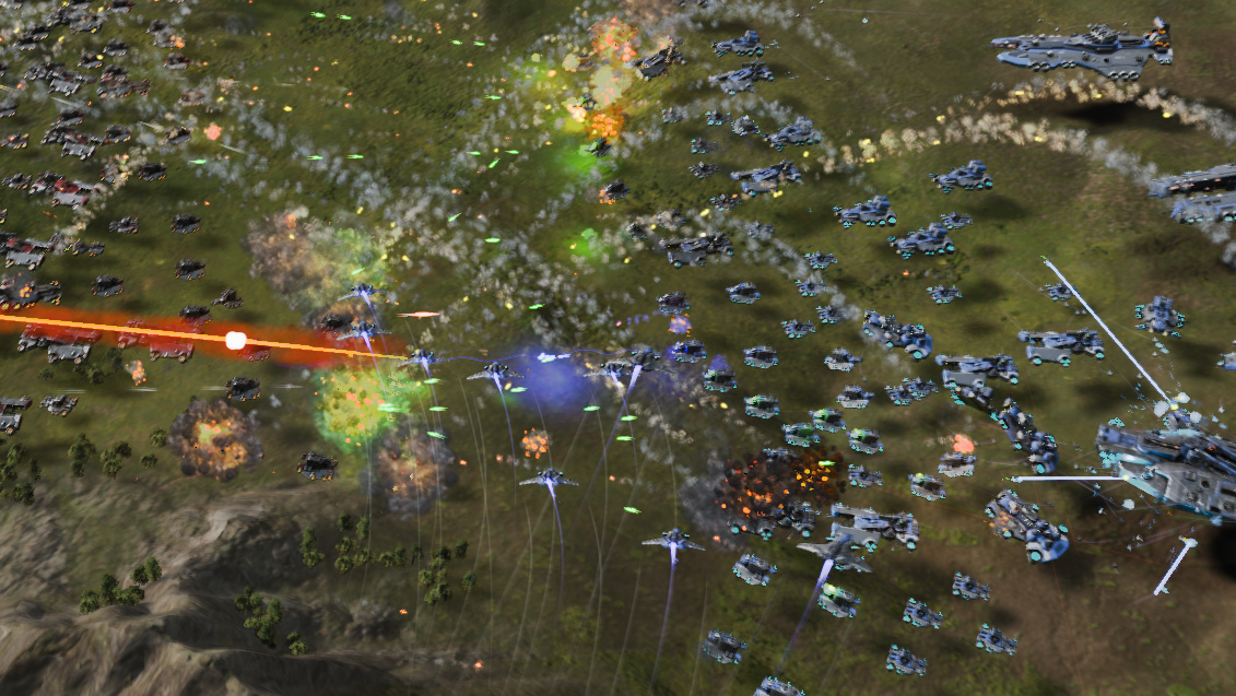 Ashes of the Singularity: DirectX-12-Benchmarks mit Grafikkarten von AMD und Nvidia