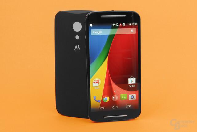 Moto G 4G LTE 2. Gen – Einsteigersmartphone für den kleinen Geldbeutel