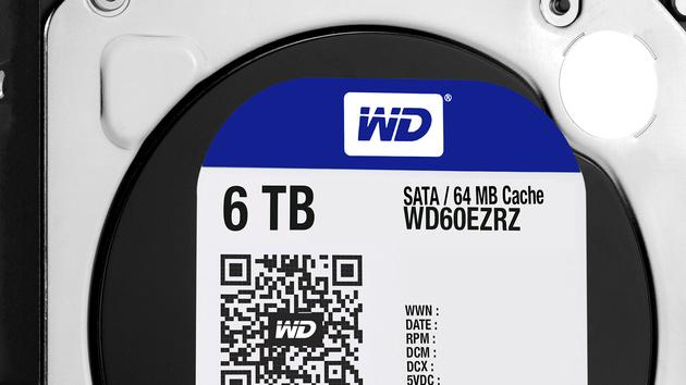 Western Digital: HDD-Serie WD Blue mit bis zu 6TB und grüner