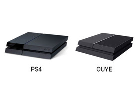 OUYE vs. PlayStation 4
