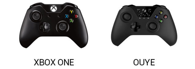 Controller: OUYE vs. Xbox One