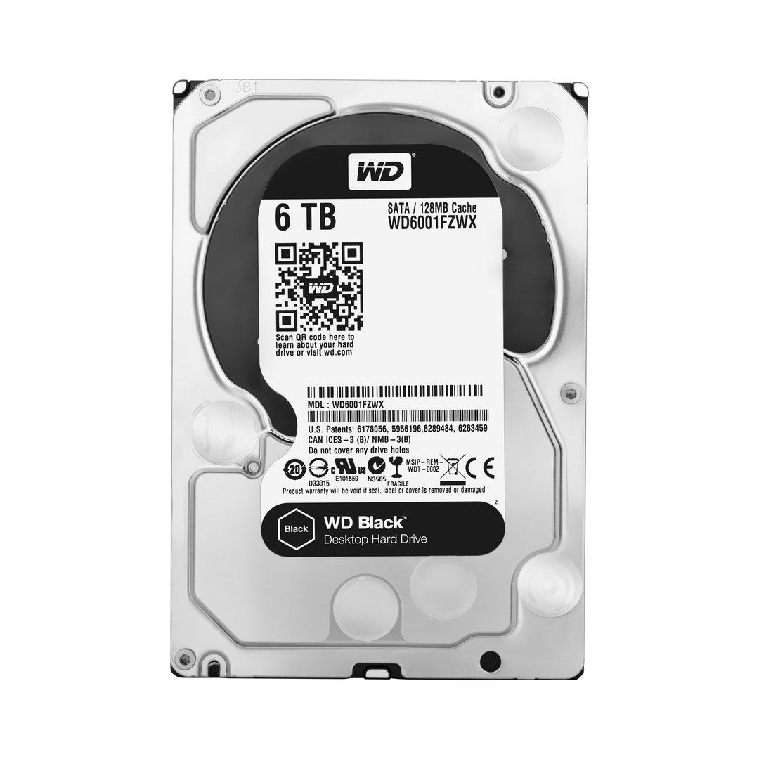 WD Black mit 6 TB (WD6001FZWX)