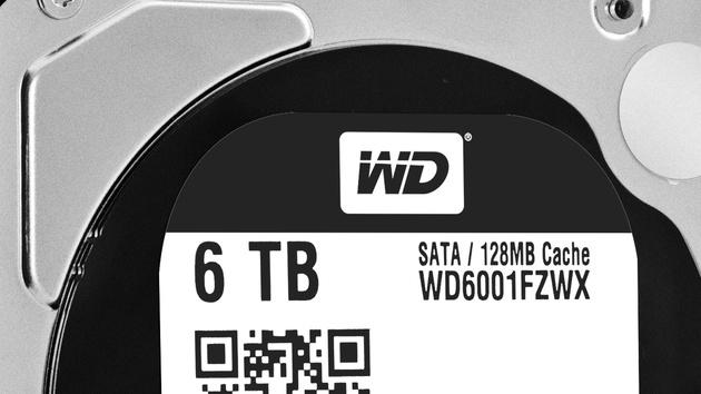 Festplatten: WD Black und WD Red Pro jetzt mit 5 und 6 TByte