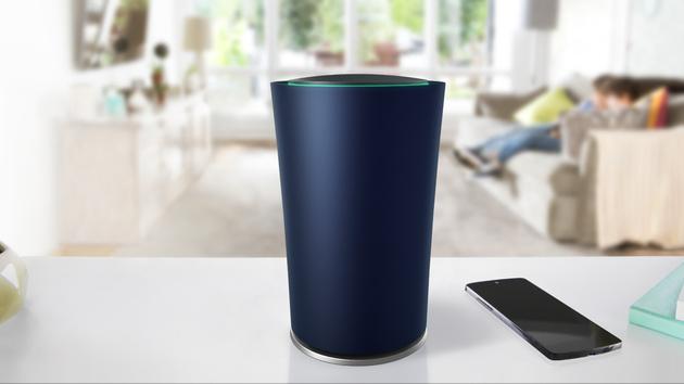 Google OnHub: Wohnzimmertauglicher Router soll besseren Empfang haben