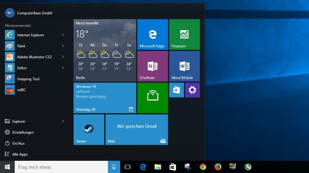 Windows 10: Build 10525 ist die erste Vorschau nach der Veröffentlichung