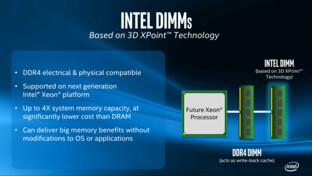 3D XPoint als Intel-DIMM
