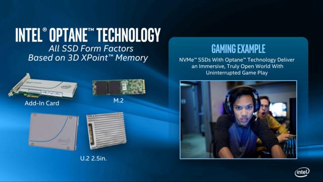 Optane-Familie mit 3D-XPoint-SSDs in gängigen Formaten