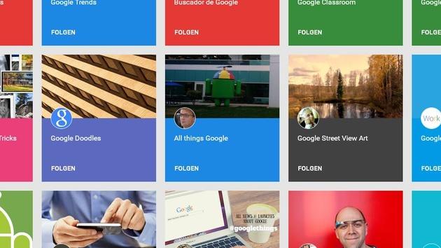 Google: Neue Funktionen und Suche für Google Fotos und Google+