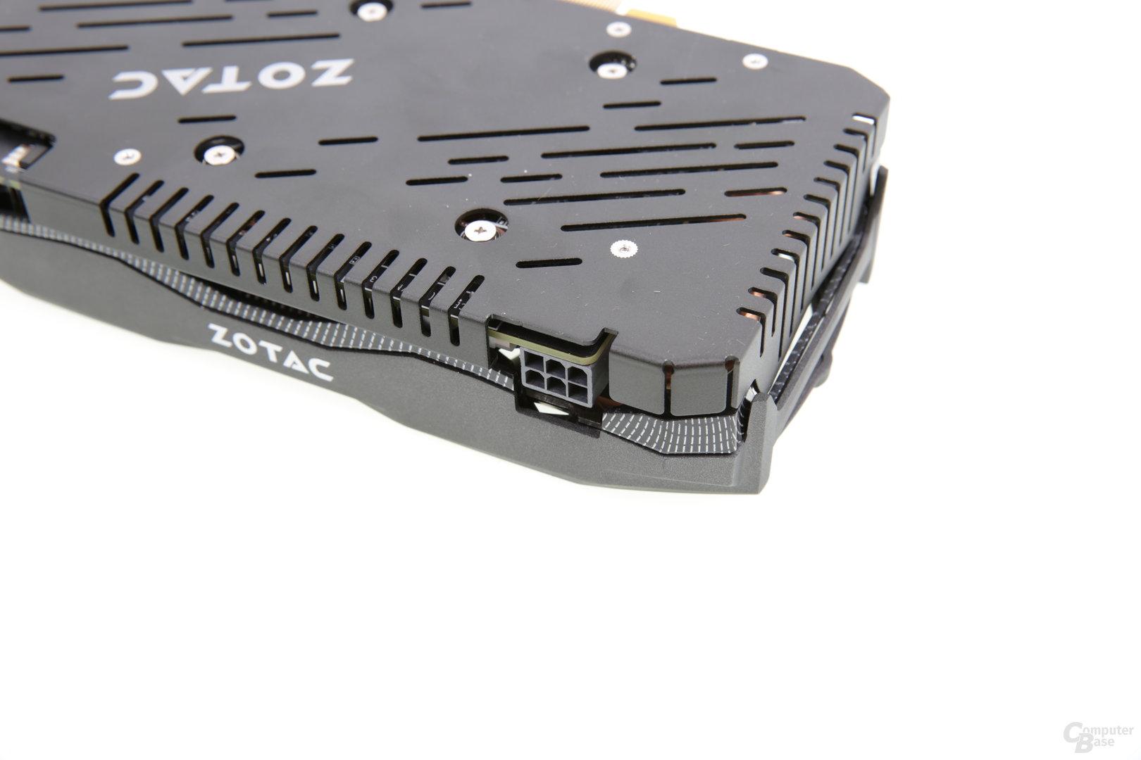 Zotac GeForce GTX 950 AMP! - Stromanschluss