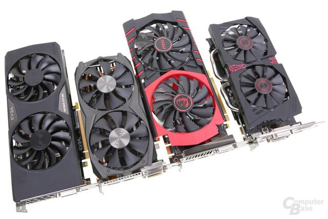 GeForce GTX 950 von Asus, EVGA, MSI und Zotac