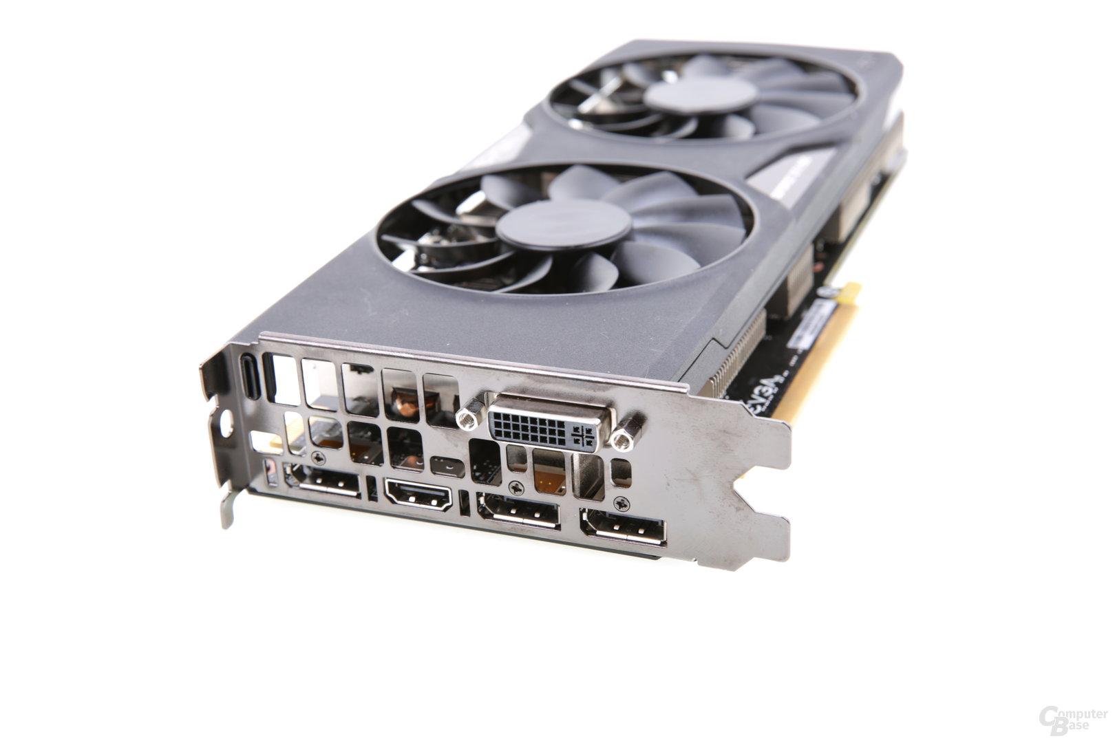 EVGA GeForce GTX 950 FTW - Monitoranschlüsse