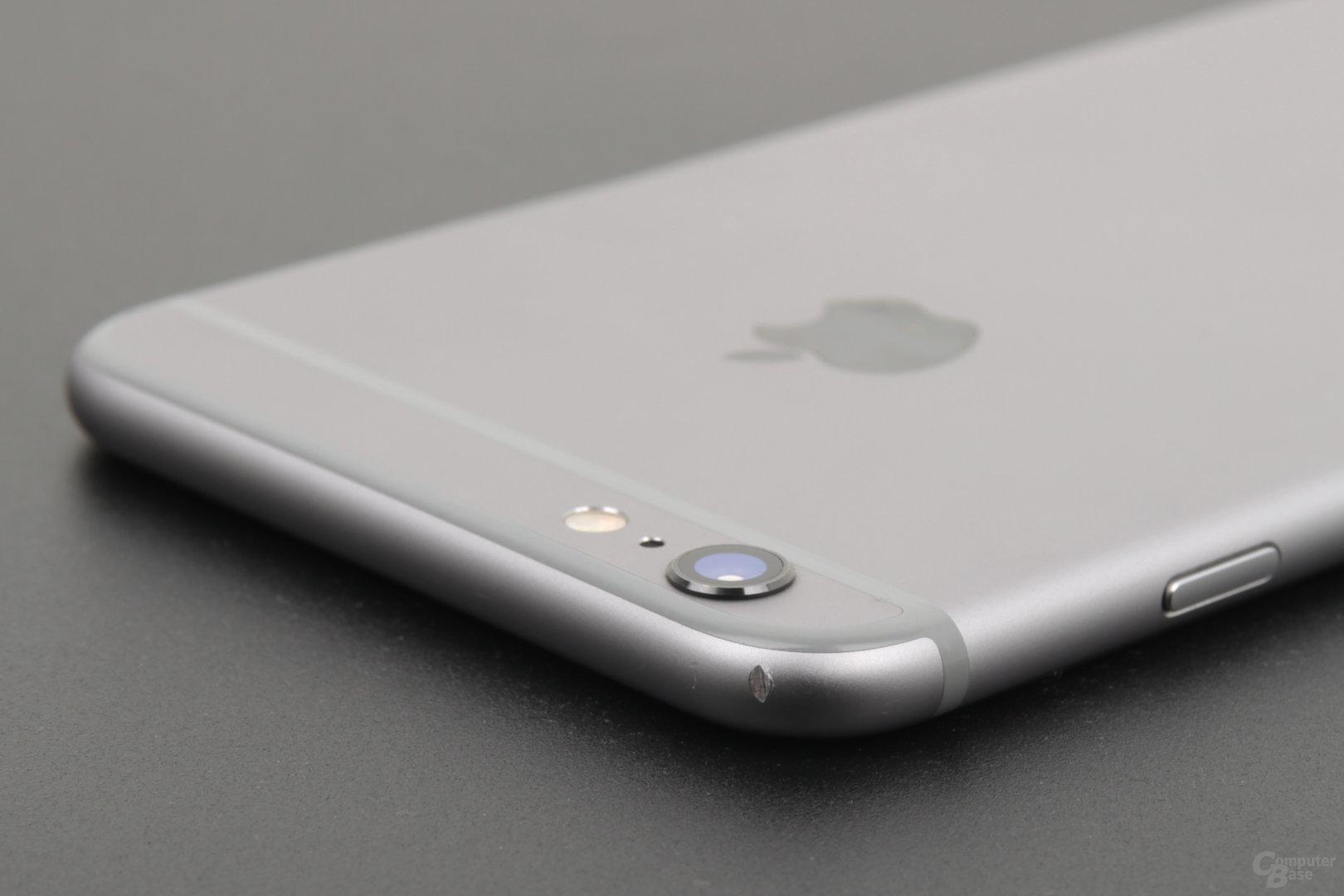Unbeschadet hat das iPhone 6 Plus das Jahr nicht überstanden