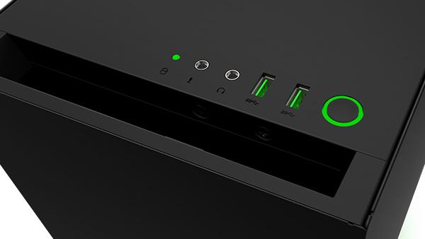 NZXT S340 Designed by Razer: Unterbodenbeleuchtung und optische Aufwertung