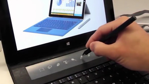 Surface: Microsoft-Konzept zeigt Type Cover mit E-Ink-Display