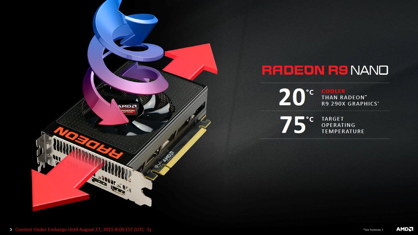 AMD Radeon R9 Nano – Präsentationsfolien