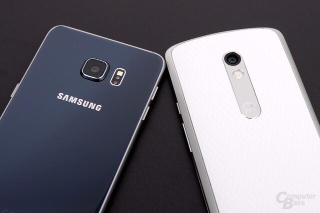 Galaxy S6 edge+ und Moto X Play haben sich beide eine Empfehlung verdient