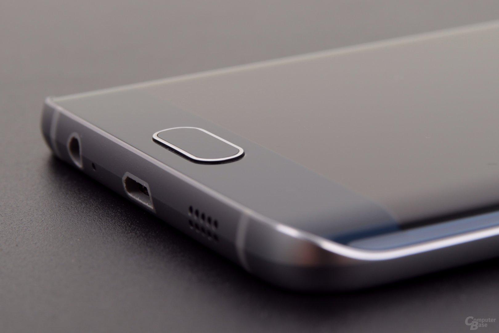 Im Home-Button steckt ein zuverlässiger Fingerabdruckscanner