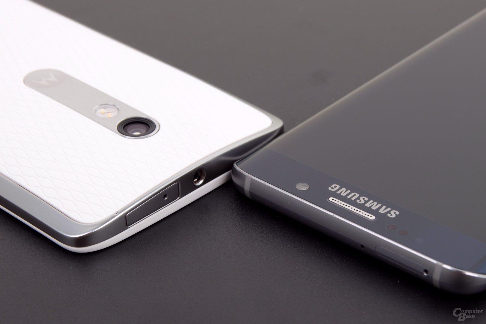 Das Galaxy S6 edge+ ist deutlich dünner